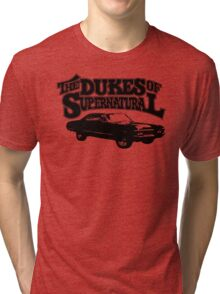 Dukes of Supernatural - light colors Tri-blend T-Shirt