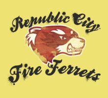 Fire Ferrets Street Shirt Kids Clothes
