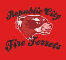 Fire Ferrets Street Shirt Baby Tee