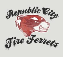 Fire Ferrets Street Shirt by Rachael Thomas