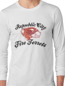 Fire Ferrets Street Shirt Long Sleeve T-Shirt