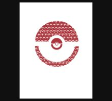 Pokeball Inception One Piece - Short Sleeve