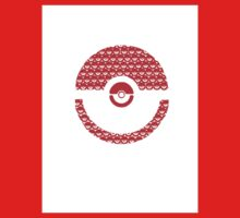 Pokeball Inception One Piece - Long Sleeve