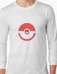 Pokeball Inception Long Sleeve T-Shirt