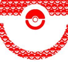 Pokeball Inception Sticker