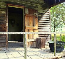 Porch Of Slave Home On Laura Plantation by anitahiltz