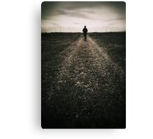 The desolate way Canvas Print