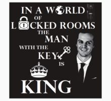 The man with the key is king. by Vera-Moriarty