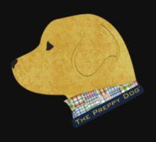 Preppy Dog Madras Golden Retriever One Piece - Long Sleeve