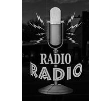 Radio Radio Photographic Print