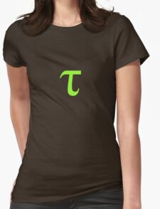 Tau Womens Fitted T-Shirt