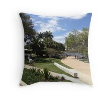 SOUTH BANK BRISBANE (QUEENSLAND - AUSTRALIA) Throw Pillow