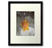 PitFall Pete Framed Print