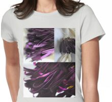 Aubergine! Womens Fitted T-Shirt