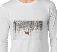 I'll be home for Christmas - Red Deer Long Sleeve T-Shirt