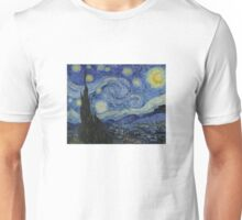 The Starry Night by Vincent van Gogh Unisex T-Shirt