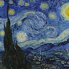 The Starry Night by Vincent van Gogh by warishellstore