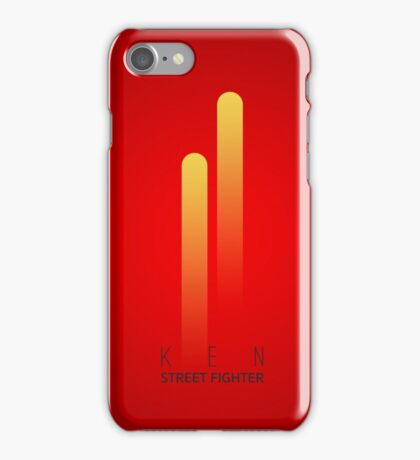 Street Fighter - Ken iPhone Case/Skin