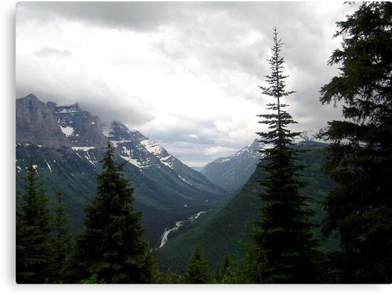 VIEW OF HEAVEN - GLACIER NATIONAL PARK by May Lattanzio