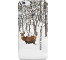 I'll be home for Christmas - Red Deer iPhone Case/Skin