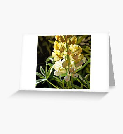 Lupin Greeting Card