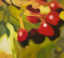 Red Berries 2 by Lynsey Ewan