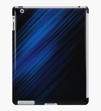 Wallpaper  Line Shadow Blue Black iPad Case/Skin