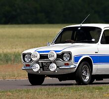 MK1 Ford Escort RS2000 iPhone cover by Martyn Franklin