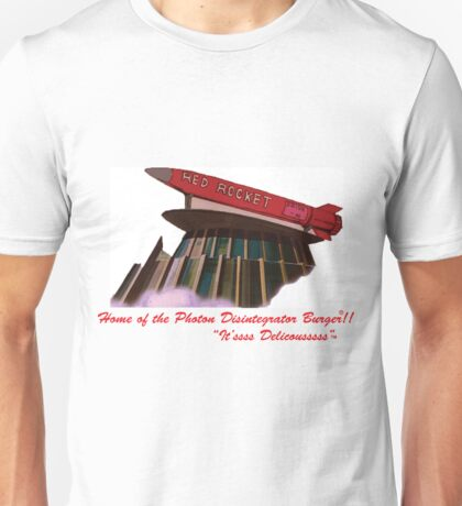 red rocket drive in Unisex T-Shirt