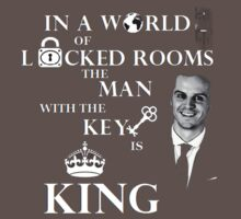 The man with the key is king 2 Baby Tee