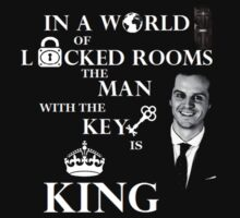 The man with the key is king 2 by Vera-Moriarty