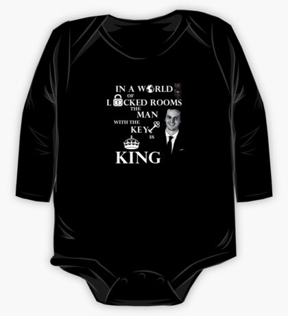 The man with the key is king 2 One Piece - Long Sleeve