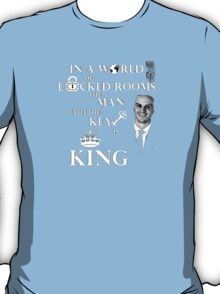 The man with the key is king 2 T-Shirt