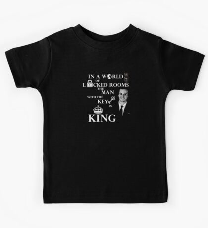 The man with the key is king 2 Kids Tee