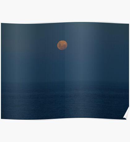 moon raise Poster
