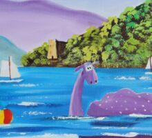 Th Loch Ness monster Sticker