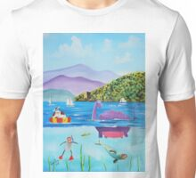 Th Loch Ness monster Unisex T-Shirt