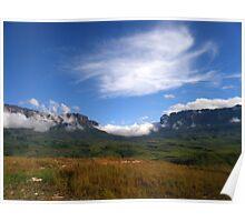 Roraima landscape Poster