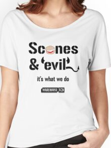 Scones & Evil Women's Relaxed Fit T-Shirt