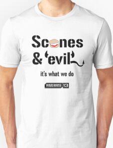 Scones & Evil Unisex T-Shirt