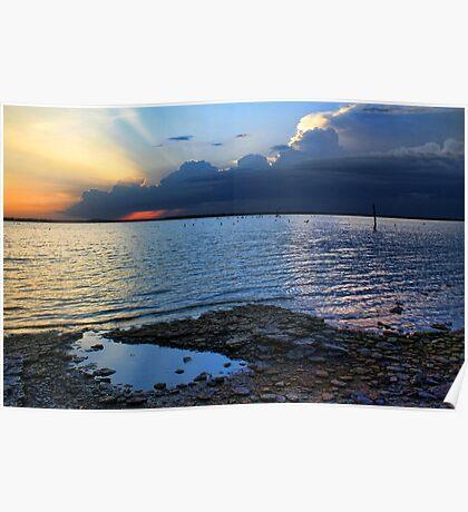 A Sundown At Eufaula Poster