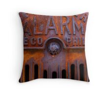 Alarm Throw Pillow