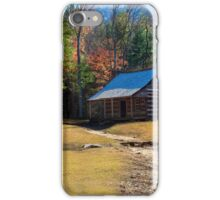 Tennessee Homestead - Great Smoky Mountain National Park iPhone Case/Skin