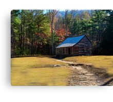 Tennessee Homestead - Great Smoky Mountain National Park Canvas Print