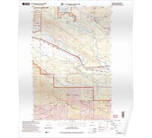 USGS Topo Map Washington State WA Ronald 243510 2003 24000 Poster