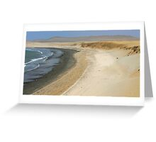 Paracas Greeting Card