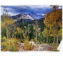 High In the Rockies - Rocky Mountain National Park Poster