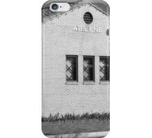 Abilene, Kansas - Railroad Station iPhone Case/Skin