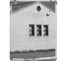 Abilene, Kansas - Railroad Station iPad Case/Skin