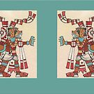 Jaguar Knight Diptych by Aakheperure